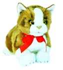 Cat Kitten Ginger kitten soft plush toy - Ginger