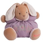 Kaloo Follies Large Chubby Rabbit plush baby gift with rattle