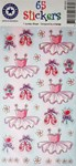Ballerina Stickers - 1 Sheet