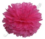 Pom Pom by Ah-Tissue- Bright Pink (select size)