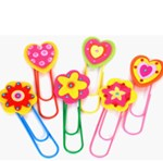 Girly Book Markers (6 per pack)
