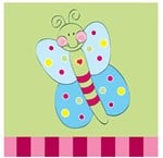 Candy Wings Napkins by Paper Eskimo (20 per pack)
