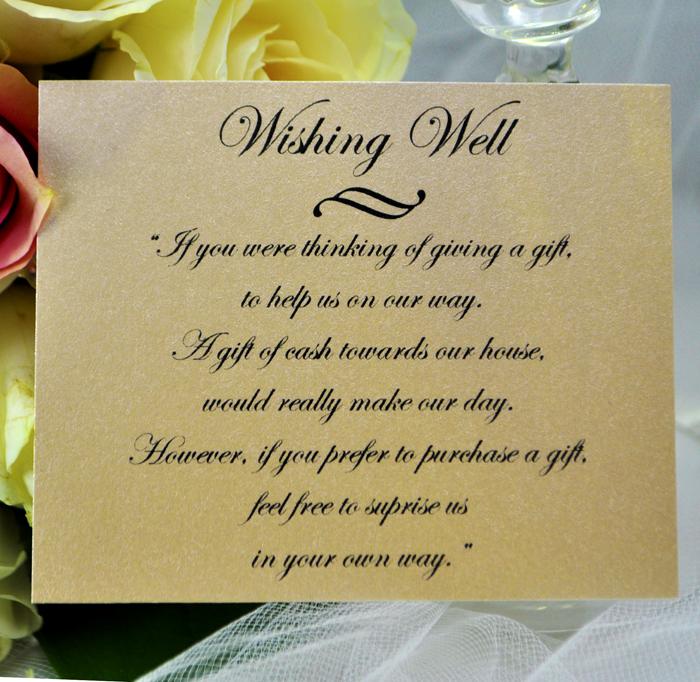 wedding wishing well wording ideas - 28 images - wording for wedding ...