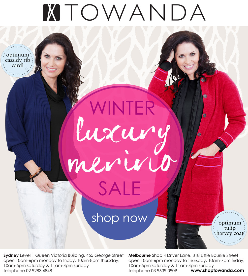winter sale - luxury merino