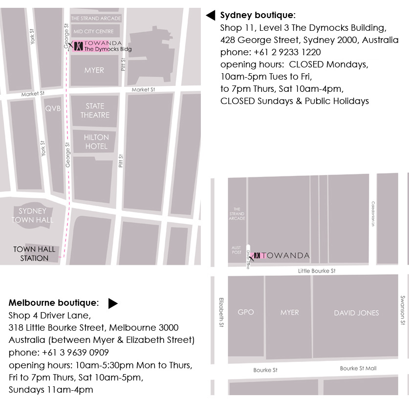 Added dimensions clothing store locations