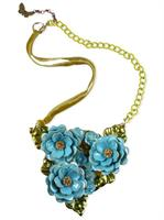 SALE - blue soulseeker necklace by Ghost + Lola - final clearance