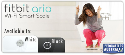 Fitbit Aria Smart scales are available in white and black