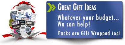 Gift Ideas  and Free gift wrap at Pedometers Australia