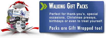 Walking gift packs from Pedometers Australia