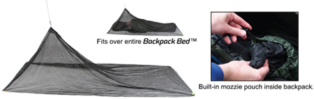 Backpack Bed Tropical Mosquito Pack