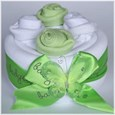 Butterfly Cake Green