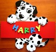 PUPPY Name Plaque