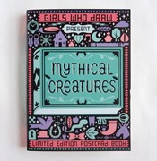 Mythical Creatures Postcard Book