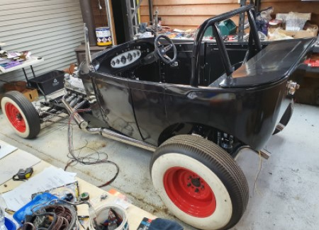 Hot Rod Chassis model bucket chassis fabrication