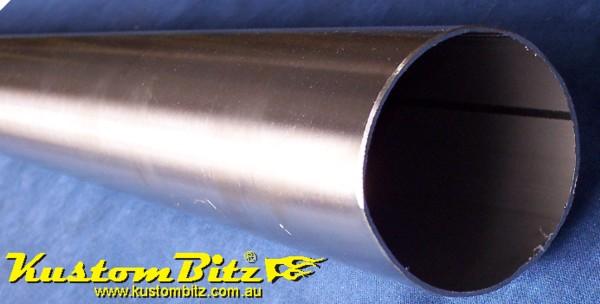 Straight Lengths 304 Stainless Steel Exhaust Tube Kustom