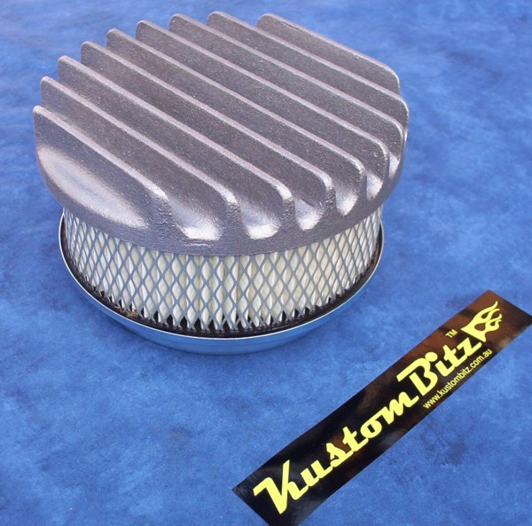 16 Inch Air Cleaner : Air cleaner inch flat top finned stromberg single