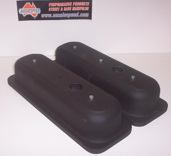 Chevy V6 Valve Covers Black