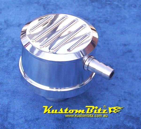 Oil Breather Cap Billet Alloy With PCV Built In
