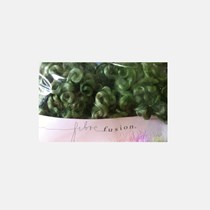 Mohair Curls Green Party 25 gms
