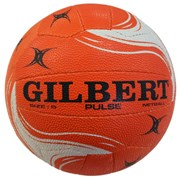 Gilbert Pulse netball - orange