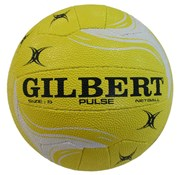 Gilbert Pulse netball - yellow