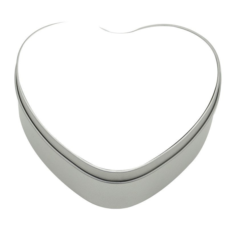 Heart Shaped Metal Tin Picture Perfect Products Heat