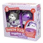 Beanie Kid Angelina the Angel Cat Bear & Braddles the Bauble Bear