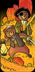 Teddy Bear Treasure Hunters i4/4s Phone Case