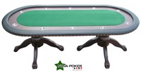 LUXURY DELUXE CASINO POKER TABLE for 10 players 84""