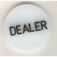 10 Dealer Buttons with FREE Express Shipping