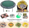 Round POKER TABLE Combo Texas Hold'em Pack