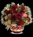 T13X500A Jeweled Ornament Bouquet