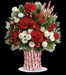 T13X600A Peppermint Sticks Bouquet