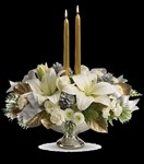 TWR09-1A Silver And Gold Centerpiece