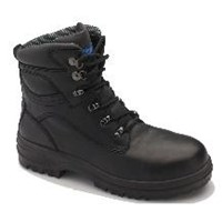 Blundstone 142 Black Lace-up Safety Boot - Clearance Special!!