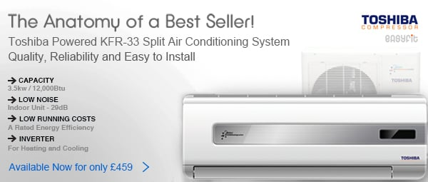 Toshiba KFR-33 Split Air Conditioning System