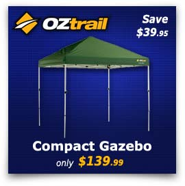 OZtrail Compact Gazebo