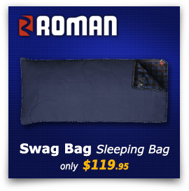 Roman Swag Bag Sleeping Bag