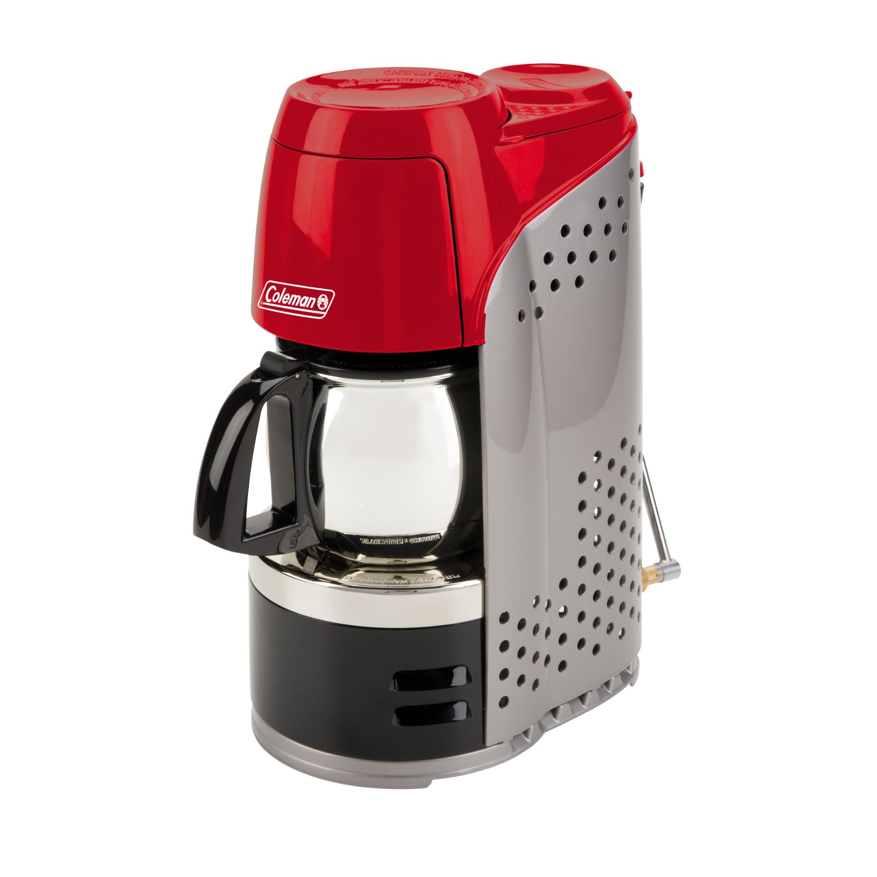 Coleman Camping Coffee Maker Review : Coleman InstaStart Coffeemaker Holds 10 cups