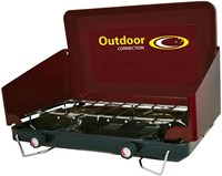 Outdoor Connection Standard 2 burner Stove - high output 10000btu burners