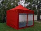 Outdoor Connection 3 x 3m Gazebo Mesh Wall Kit with Door