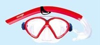 Comet Junior Silitex Kids Snorkel Set
