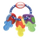 Nuby BPA Free Icybite Key Teether