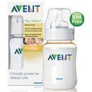 Avent BPA-Free Baby Bottle 260ml (PES)