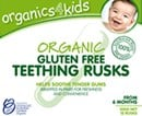 Organics 4 Kids Organic Gluten Free Teething Rusks 100g
