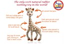 Sophie the Giraffe - Made from 100% Natural Rubber