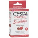 Crystal Essence Pomegranate Deodorant Towelettes (6 Pack)
