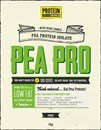 Protein Supplies Australia Pea Pro Pure Pea Protein 500g