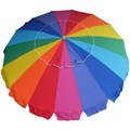 Beachkit Rainbow 230cm Umbrella