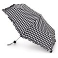 Fulton Ladies Superslim Cow Girl Ginghams Crook Handle Auto Umbrella
